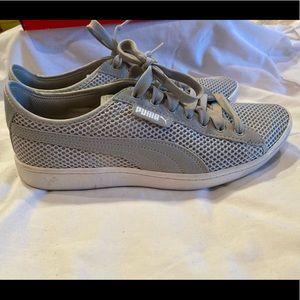 Puma vikky mesh gray size 8